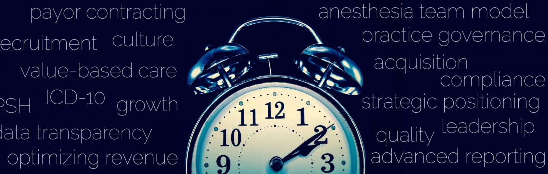 What's Keeping Anesthesiologists Awake at Night